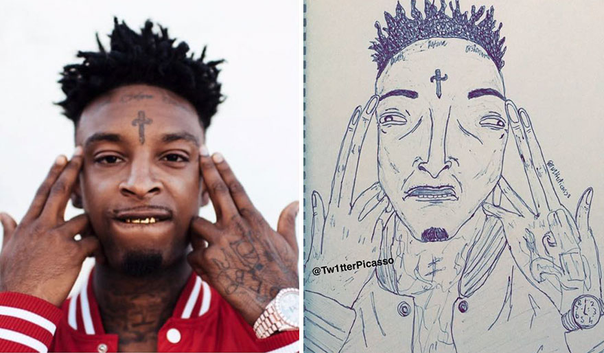 21 Savage Fan Art