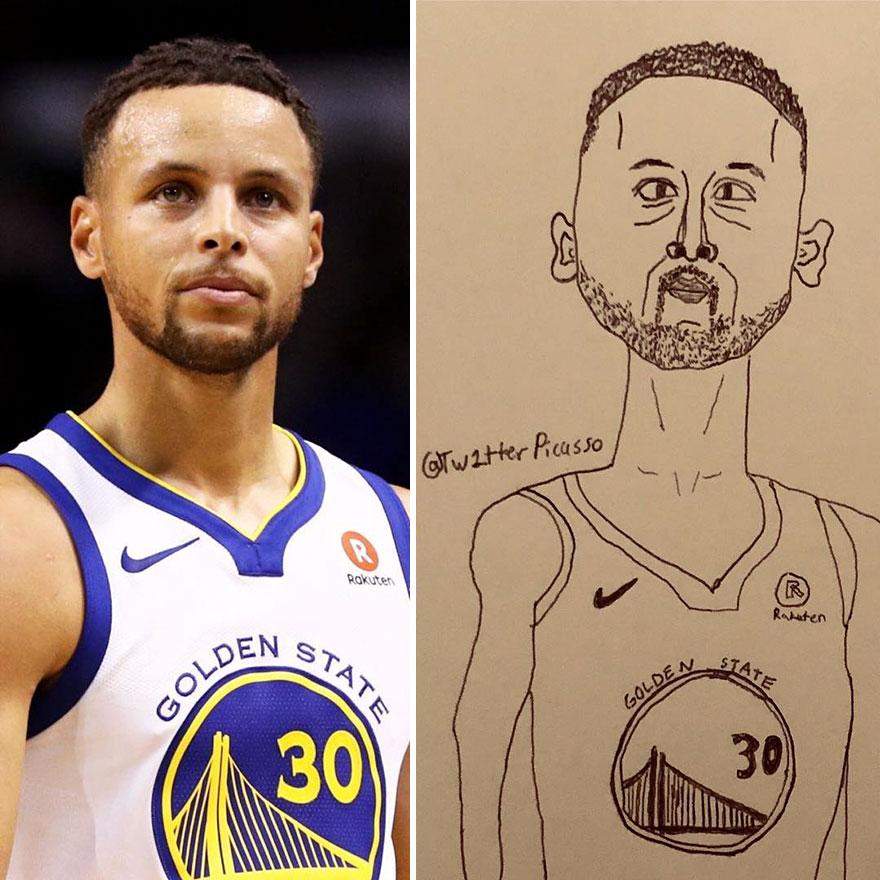 Wardell Curry Fan Art