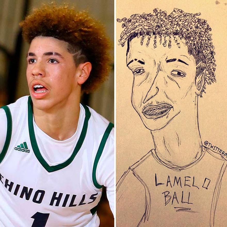 Lamelo Ball Fan Art