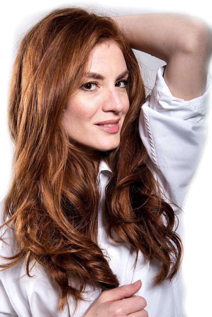 The Beauty Of The Redhead Italian Women