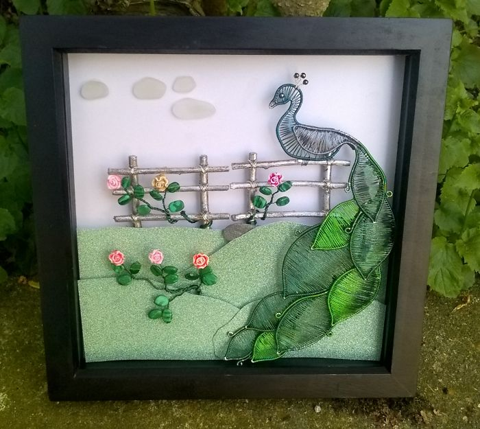 I Create Wire Wrapped Art To Make Your Home Unique As You Are!