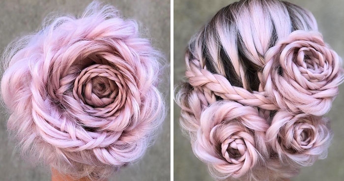 Braided Rose Hairstyle Is The Hottest New Trend And Everyone Is Obsessed With It