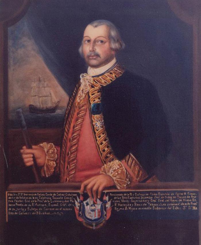 Bernardo De Galvez Painting. Unknown