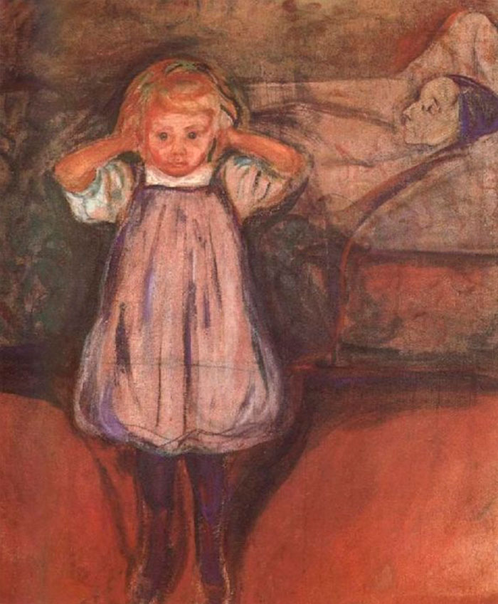 The Dead Mother. Edvard Munch