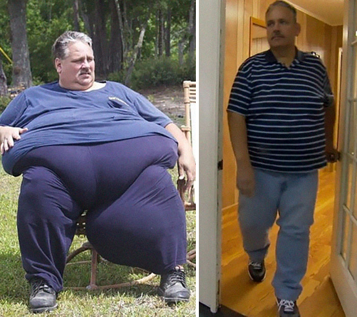 Chuck Turner Was 693 Lbs, He Dropped To 433 Lbs