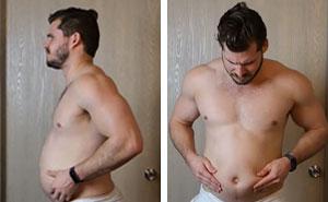 Este hombre muestra su increíble transformación corporal durante 12 semanas en un vídeo secuencial, y el resultado te sorprenderá