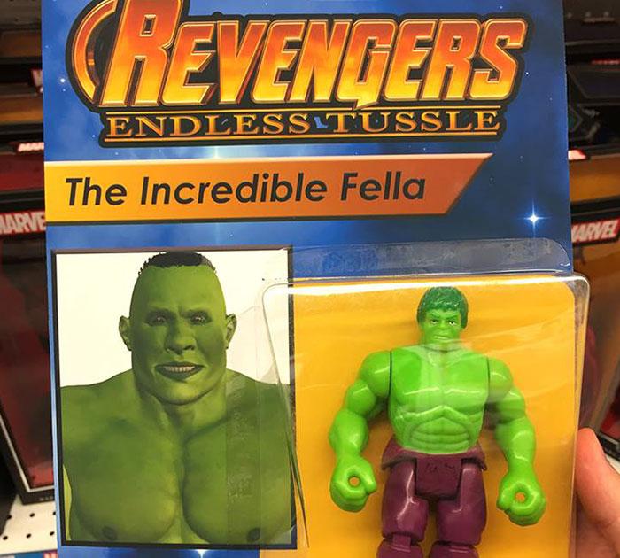 Estas figuras falsas de los Vengadores son tan cutres que han triunfado hasta agotarse