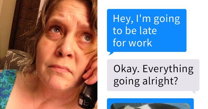 Esta mujer avisó a su jefe de que iba a llegar tarde a trabajar y él respondió de la mejor forma