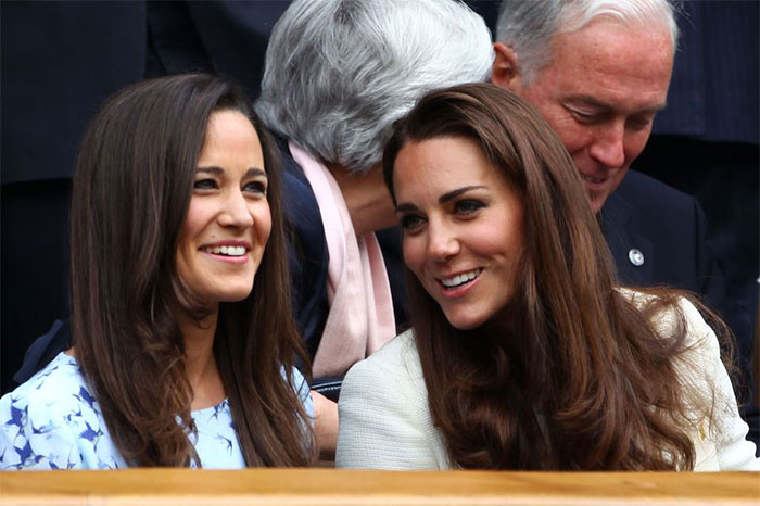 Kate Middleton With Her Sister Pippa