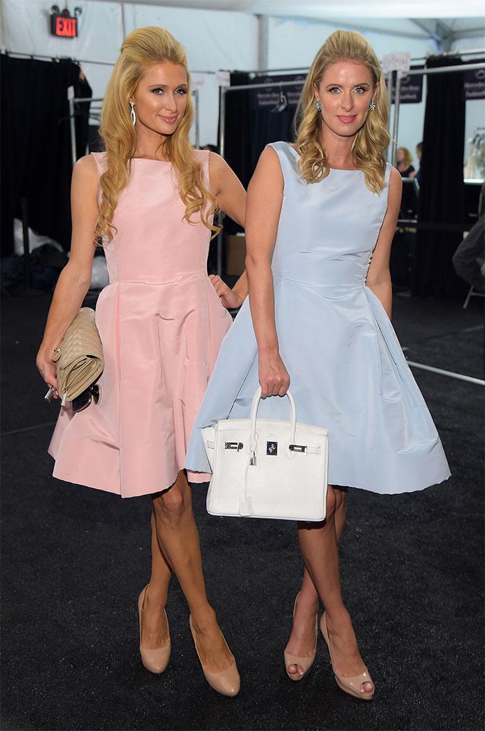 Paris Hilton With Her Sister Nicky