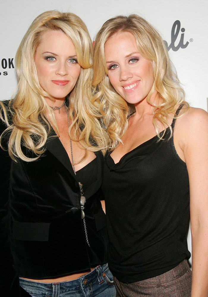 Jenny McCarthy With Her Sister Amy