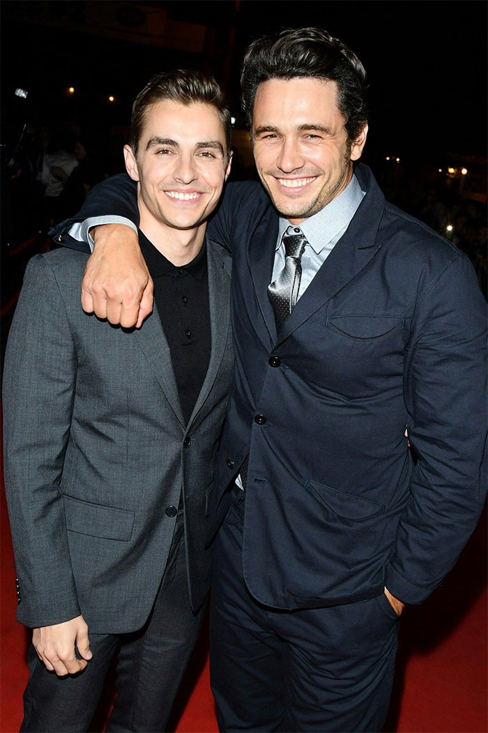 James Franco With His Brother Dave