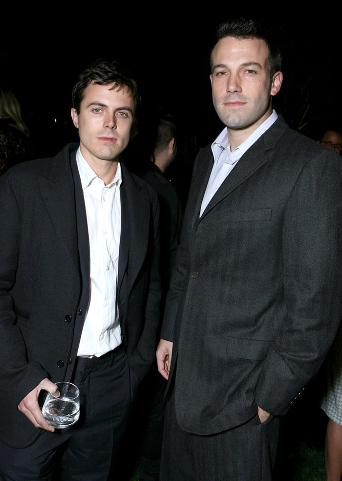 Ben Affleck With His Brother Casey