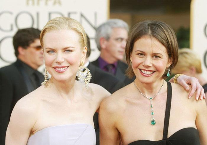 Nicole Kidman With Her Sister Antonia