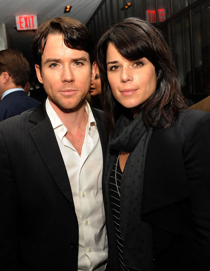 Christian Campbell With His Sister Neve