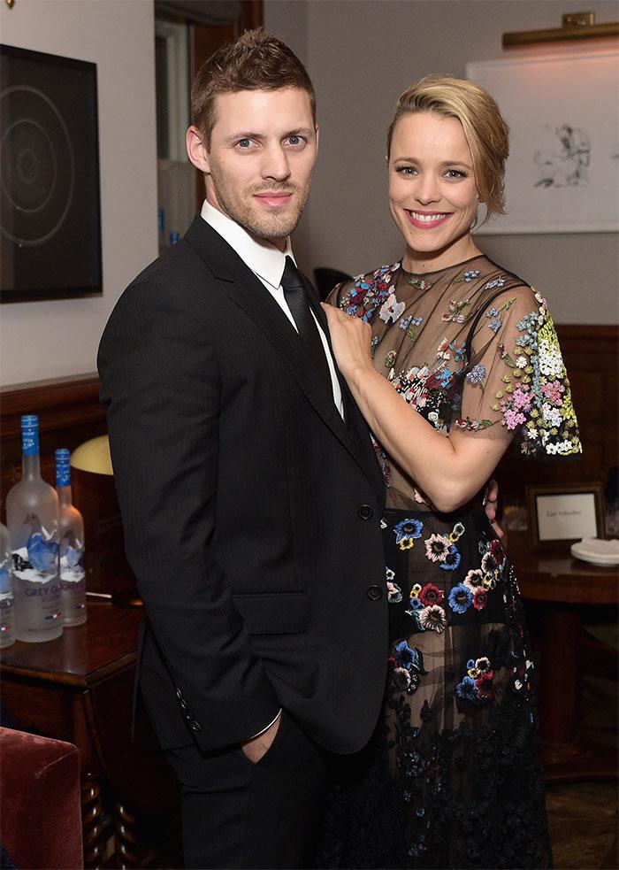 Rachel McAdams With Her Brother Daniel