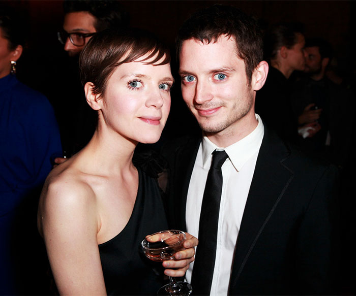 Elijah Wood y su hermana menor Hannah