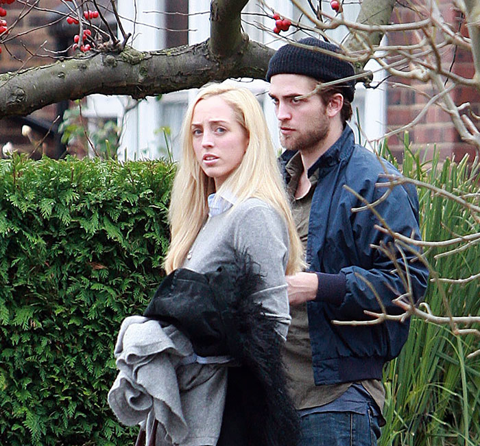 Robert Pattinson With His Sister Lizzy