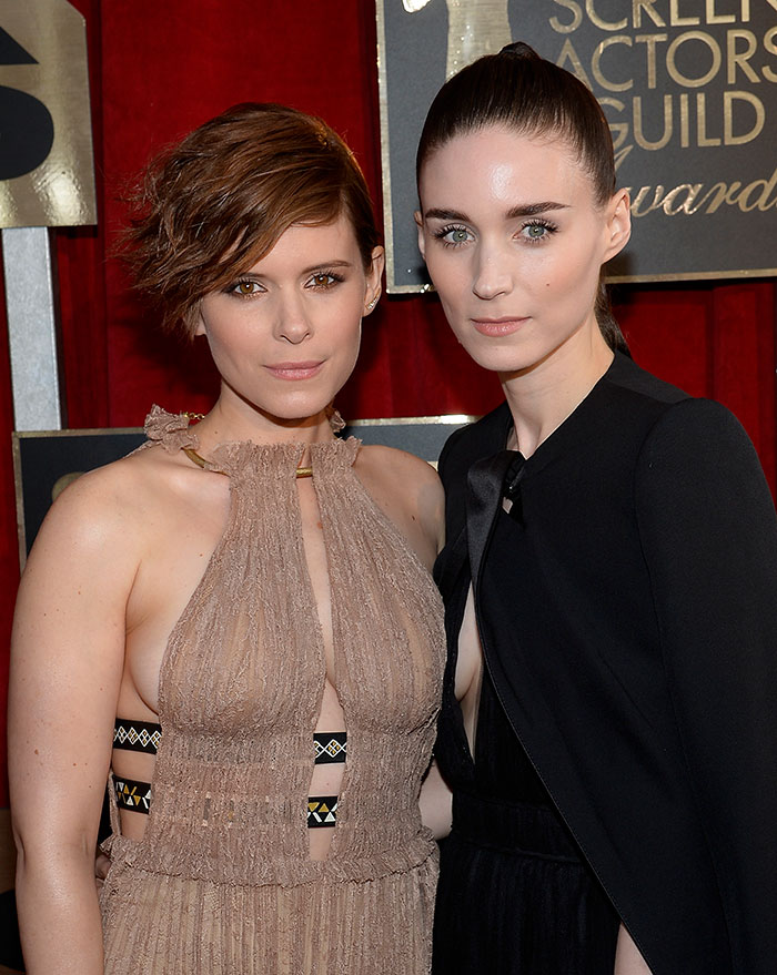Kate Mara With Her Sister Rooney