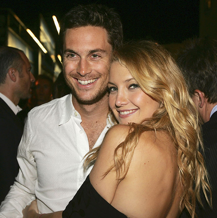 Oliver Hudson With His Sister Kate Hudson
