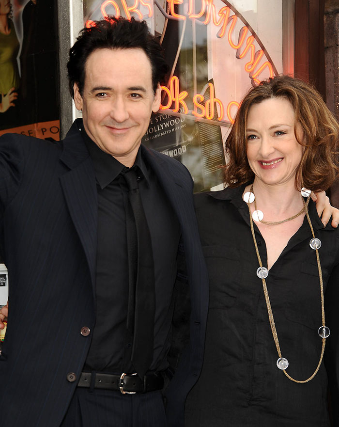 John Cusack With His Sister Joan