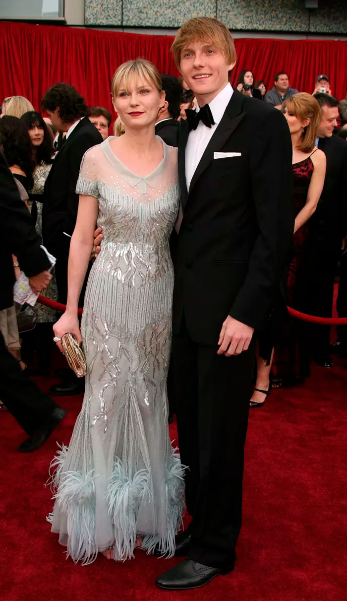 Kirsten Dunst With Her Brother Christian