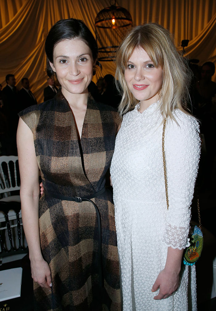 Gemma Arterton With Her Sister Hannah
