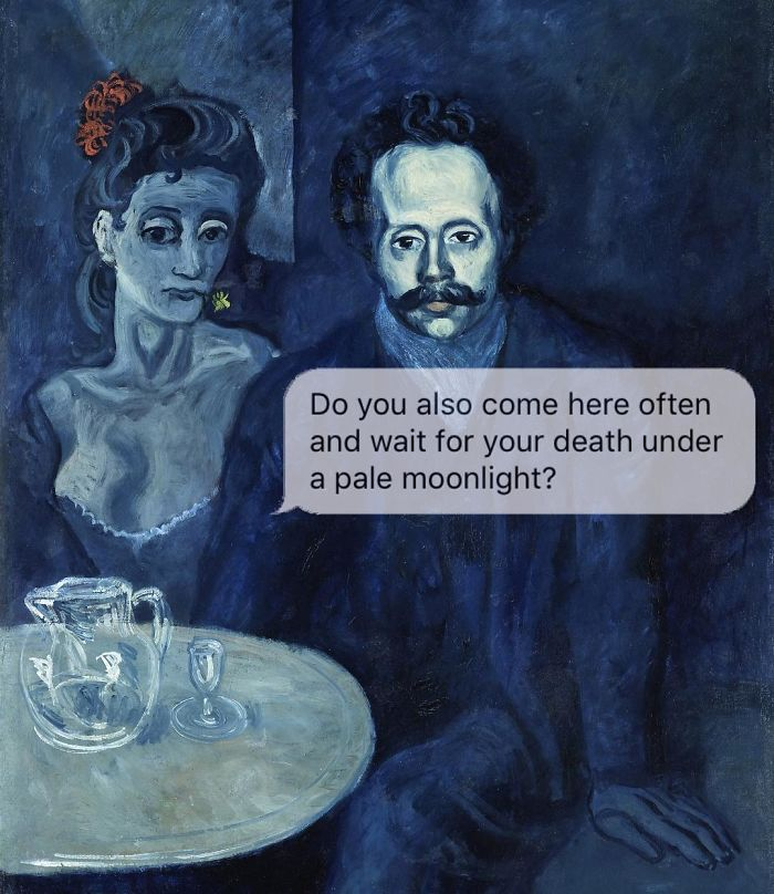 Classical-Art-Dark-Humor-April-Eileen-Henry-Texts-From-Your-Existentialist