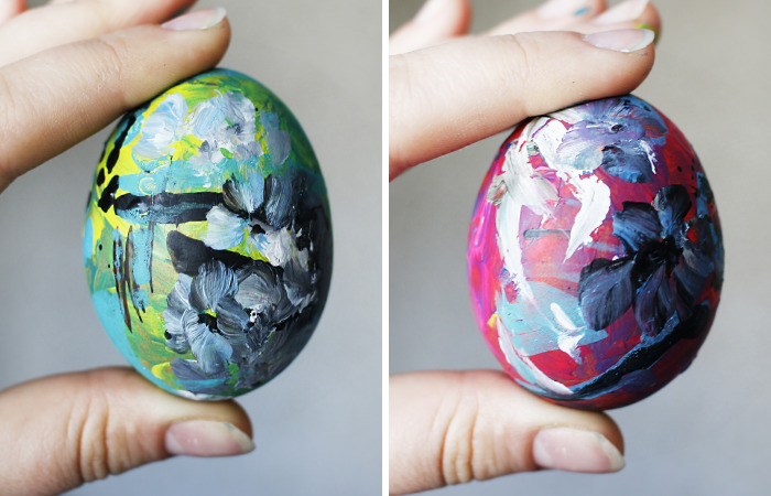 I've Painted Easter Eggs Very Spontaneously