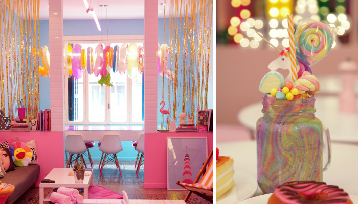 Candyfornia Pink Café In Beirut… For Unicorns Only