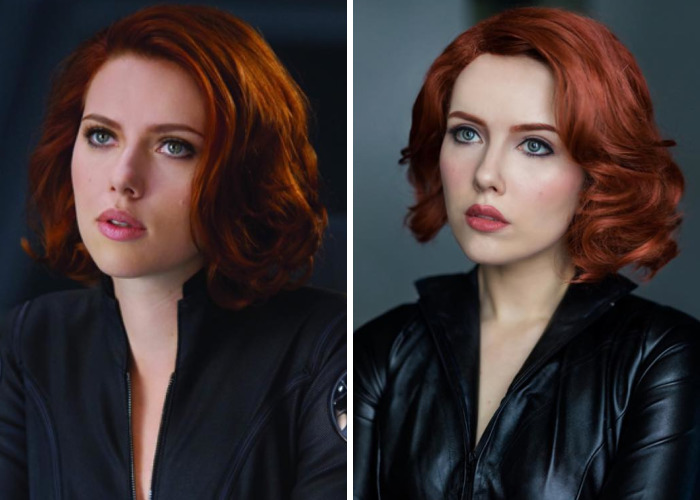 This Artist Created An Amazing Black Widow's Cosplay