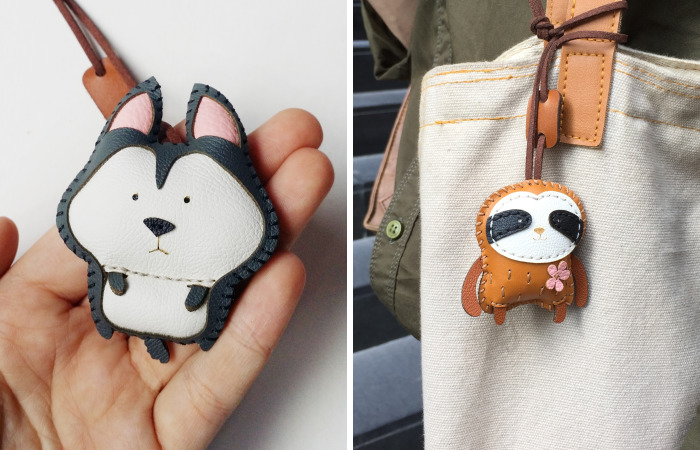 We Create Leather Charms That Let You Carry Your Favorite Animal Wherever You Go