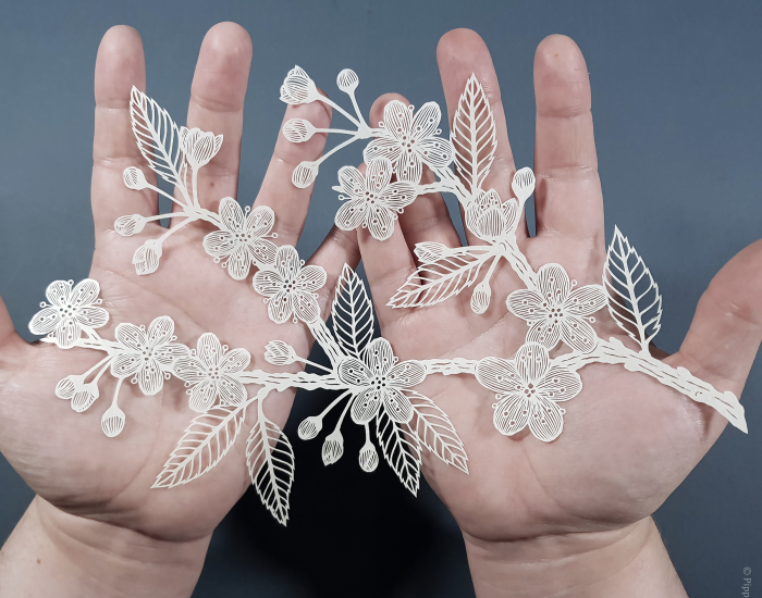 I Create Detailed And Delicate Flower Art, Which Can Take Up To 40 Hours To Complete (27 Pics)