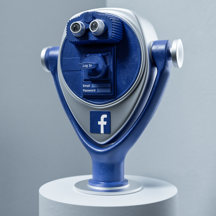 Artist Creates Metaphorical Sculptures Of Social Media Giants