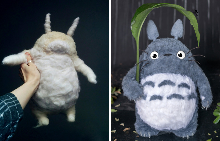 Adorable Needle Felted Totoro