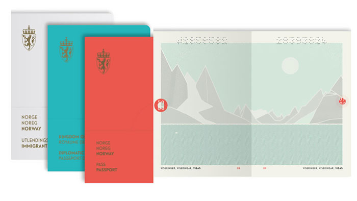 The New Norwegian Passport Design