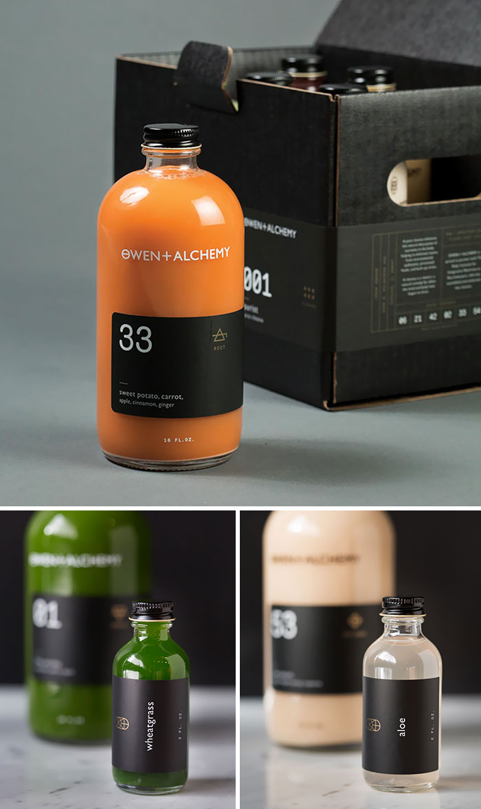 The Packaging For This Juice Company