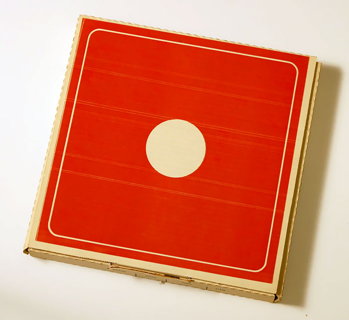 Dominos Pizza Box From The 60s