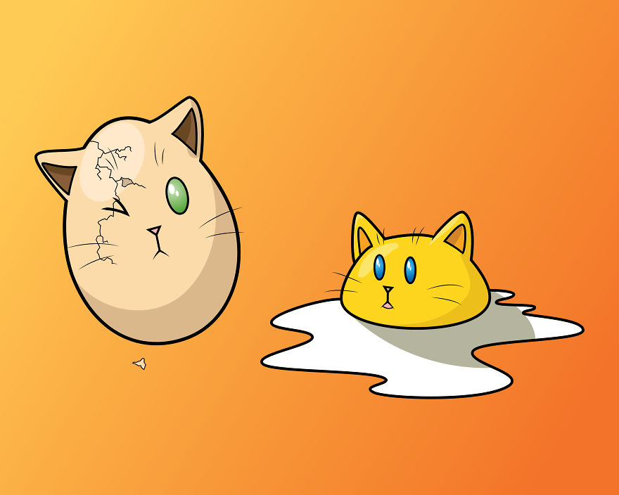 Egg Cats