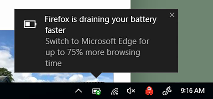 Disguising Ads As System Warnings In The Operating System Is Truly A**hole Design