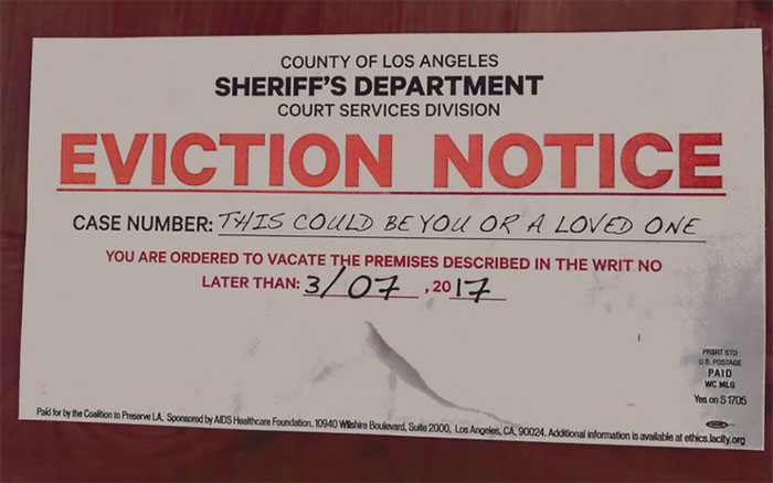 "The ""Yes On Measure S"" Campaign In Los Angeles Is Sending People Mailers That Look Almost Exactly Like An Eviction Notice"