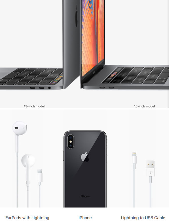 "Apple Replaces All Ports With USB-C Saying It's ""The Future"" But Their Newest Phones Aren't USB-C Compatible. You Need A Dongle To Connect Your Phone To Your MacBook. Bonus: They Remove The ""Outdated"" Headphone Jack From Their Phones But Not Their Computers"