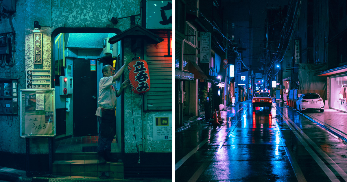 I Tried To Capture The Neon Dreams Of Tokyo And Hong Kong