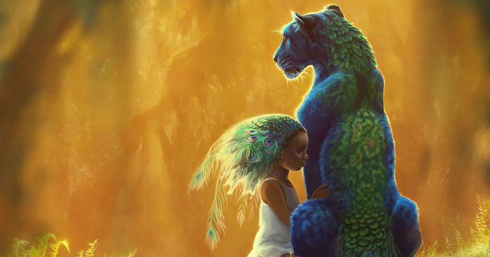 these fantasy paintings helped me cope with my sickness bored panda
