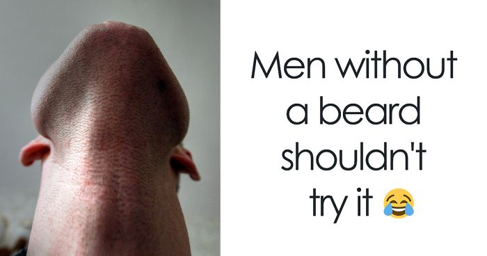 10+ Fotos tan divertidas como perturbadoras de hombres barbudos mirando hacia arriba (añade la tuya)