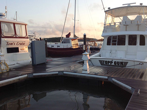 Saw Two Separately Owned Boats In A Marina, The Harbor Master Didn't Realize What He Had Done Until I Mentioned It