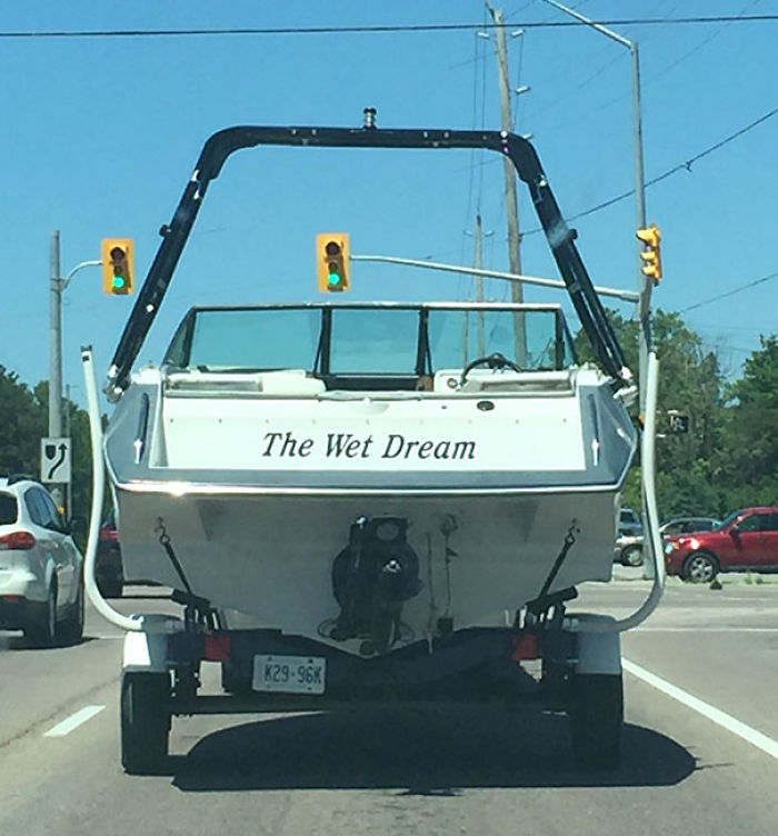 The Greatest Name For A Boat