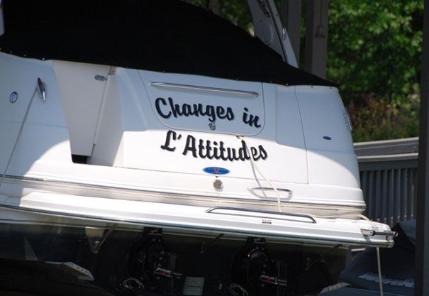 Clever Boat Name