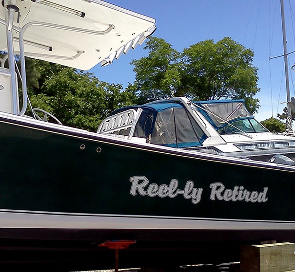 This Boat Probably Belongs To A Dad