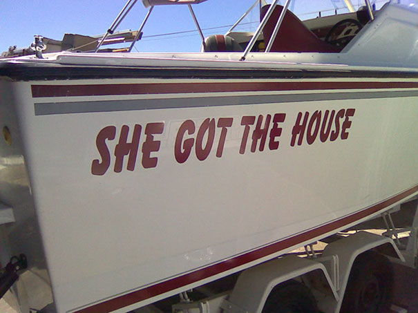 But He Has A Boat